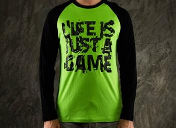 T-SHIRT ''LIFE IS JUST A GAME'' - XL RAZER
