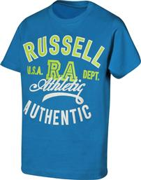 ATHLETIC BOYS' TEE A9-915-1-177 ΡΟΥΑ RUSSELL