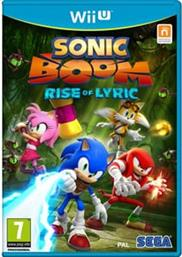SONIC BOOM: RISE OF LYRIC - WII U GAME NINTENDO