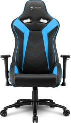 ELBRUS 3 GAMING CHAIR BLACK/BLUE SHARKOON