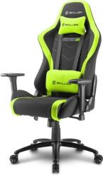 SKILLER SGS2 GAMING SEAT BLACK/GREEN SHARKOON