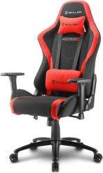 SKILLER SGS2 GAMING SEAT BLACK/RED SHARKOON