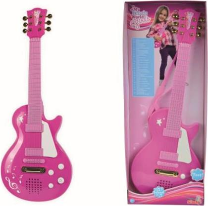 MY MUSIC WORLD ΚΙΘΑΡΑ GIRLS ROCK B/O 56CM (6830693) SIMBA