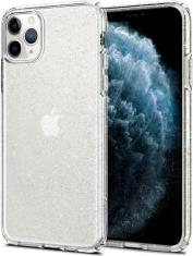 LIQUID GLITTER CRYSTAL BACK COVER CASE FOR APPLE IPHONE 11 PRO MAX (6.5) TRANSPARENT SPIGEN