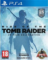 RISE OF THE TOMB RAIDER 20TH ANNIVERSARY CELEBRATION EDITION - PS4 GAME SQUARE ENIX