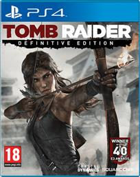TOMB RAIDER DEFINITIVE EDITION PLAYSTATION 4 SQUARE ENIX