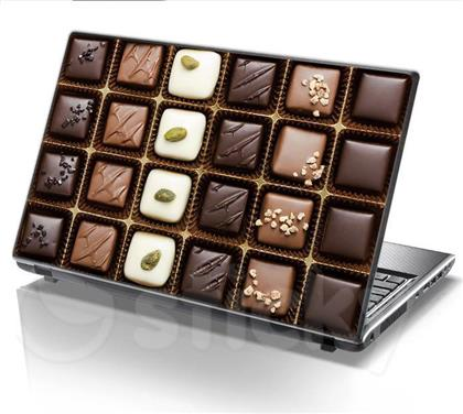 ΑΥΤΟΚΟΛΛΗΤΟ LAPTOP CHOCO BOX STICKY