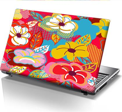 ΑΥΤΟΚΟΛΛΗΤΟ LAPTOP POP FLOWERS STICKY