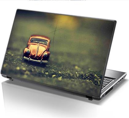 ΑΥΤΟΚΟΛΛΗΤΟ LAPTOP RETRO CAR STICKY
