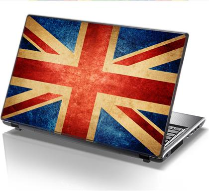 ΑΥΤΟΚΟΛΛΗΤΟ LAPTOP UNION JACK STICKY