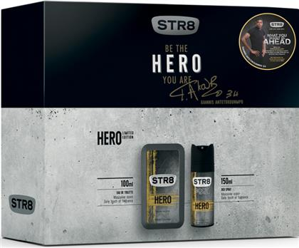 HERO EAU DE TOILETE 100ML+ ΑΠΟΣΜΗΤΙΚΟ 150ML STR8