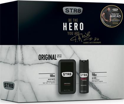 ORIGINAL EAU DE TOILETTE 100ML+ΑΠΟΣΜΗΤΙΚΟ 150ML STR8 από το e-FRESH