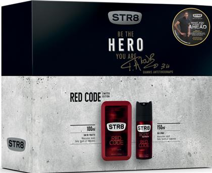 RED CODE EAU DE TOILETTE 100ML+ΑΠΟΣΜΗΤΙΚΟ 150ML STR8