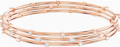 PENELOPE CRUZ MOONSUN CLUSTER BANGLE, WHITE, ROSE-GOLD TONE PLATED - 5486623 - ΛΕΥΚΟ SWAROVSKI