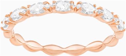 VITTORE MARQUISE RING, WHITE, ROSE-GOLD TONE PLATED - 5366576 - ΛΕΥΚΟ SWAROVSKI