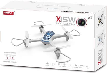 QUADCOPTER WITH CAMERA (19428-X15W) SYMA
