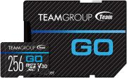 TGUSDX256GU303 GO 4K CARD SERIES 256GB MICRO SDXC UHS-I U3 V30 TEAM GROUP