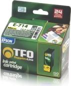 INK E-714 YELLOW ΣΥΜΒΑΤΟ ΜΕ EPSON T0714 14ML TFO