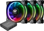 RIING PLUS 14 LED RGB RADIATOR FAN TT PREMIUM EDITION 140MM (3-PACK) THERMALTAKE