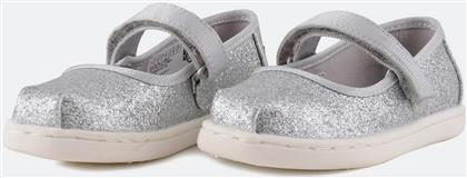 SILVER IRIDESCENT GLIMMER MARY JANE ΠΑΙΔΙΚΑ ΠΑΠΟΥΤΣΙΑ (9000006019-9264) TOMS
