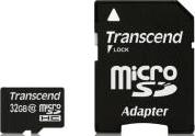 TS32GUSDHC10 32GB MICRO SDHC CLASS 10 PREMIUM WITH ADAPTER TRANSCEND