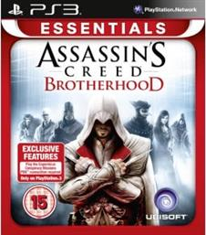 ASSASSIN'S CREED - BROTHERHOOD ESSENTIALS - PS3 GAME UBISOFT