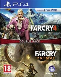 FAR CRY PRIMAL & FAR CRY 4 DOUBLE PACK - PS4 GAME UBISOFT