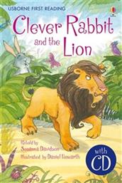 CLEVER RABBIT AND THE LION (ΜΕ CD) PRIMARY LEVEL A USBORNE