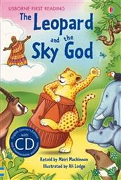 THE LEOPARD AND THE SKY GOD (WITH CD) PRIMARY LEVEL B USBORNE