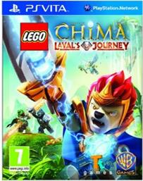 LEGO LEGENDS OF CHIMA: LAVAL'S JOURNEY - PS VITA GAME WARNER BROS GAMES
