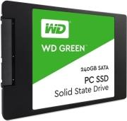 SSD WDS240G2G0A 240GB GREEN 2.5'' SATA 3 WESTERN DIGITAL