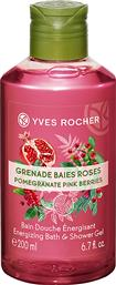 ENERGIZING BATH AND SHOWER GEL POMEGRANATE PINK BERRIES 200 ML - 07289 YVES ROCHER