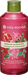 ENERGIZING BATH AND SHOWER GEL POMEGRANATE PINK BERRIES 400 ML - 07212 YVES ROCHER
