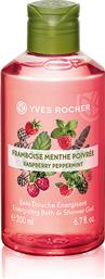 ENERGIZING BATH AND SHOWER GEL RASPBERRY PEPPERMINT 200 ML - 36383 YVES ROCHER