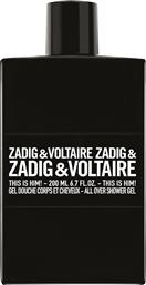 THIS IS HIM! SHOWER GEL 200 ML - 48964500000 ZADIG & VOLTAIRE